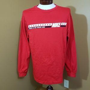 Nike Large Red long sleeve shirt